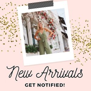 Dresses & Skirts - NEW ARRIVALS SIGN UP